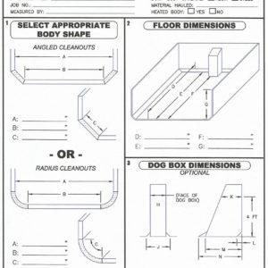 Dyna-Flo Custom Liner Scoring