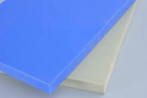 """UHMW-PE Plastic Jig Stock 12"""" x 48"""" - Silicone Filled"""